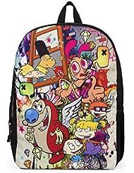 Mojo Life Nickelodeon 90s Graffiti Mashup Backpack