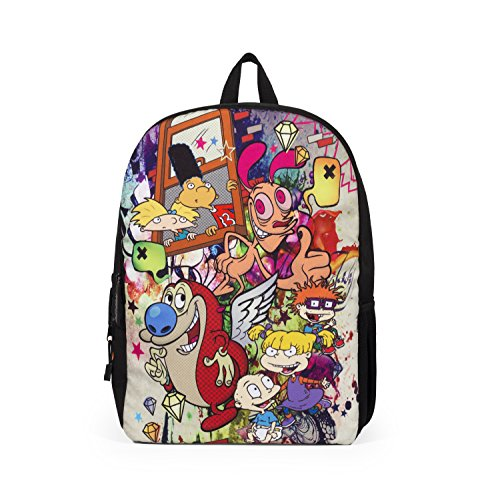 Mojo Life Nickelodeon 90's Graffiti Mashup Backpack