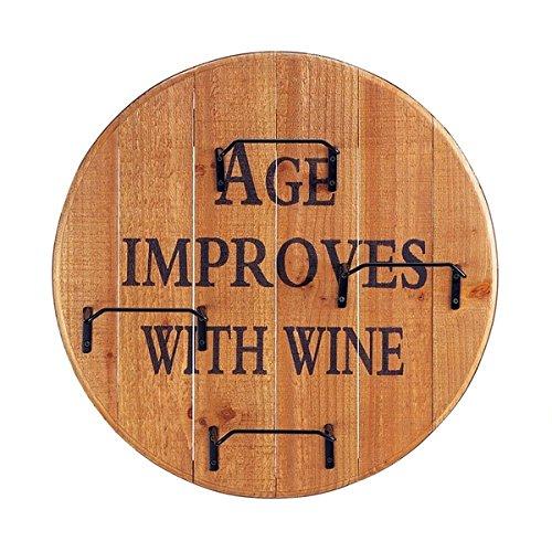 Abello Wall-mounted Wine Rack