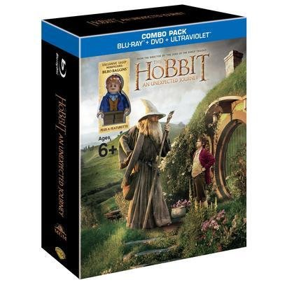 Hobbit: An Unexpected Journey [Blu-ray + DVD + UltraViolet] (UV Code Expired)