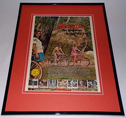 (1970 Schwinn Collegiate Bicycle 11x14 Framed ORIGINAL Advertisement)