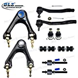 94 accord rear lower control arms - DLZ 10 Pcs Suspension Kit-2 Front Upper Contol Arm 2 Front Lower Ball Joint 2 Front 2 Rear Sway Bar 2 Inner 2 Outer Tie Rod End for 1994-1997 Honda Accord 1995-1997 Honda Odyssey 1997-1999 Acura CL