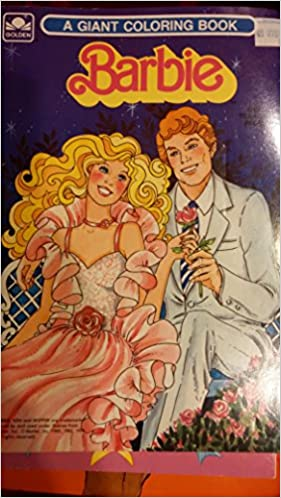 Barbie Giant Coloring Book By Golden Golden 0033500031052 Amazon