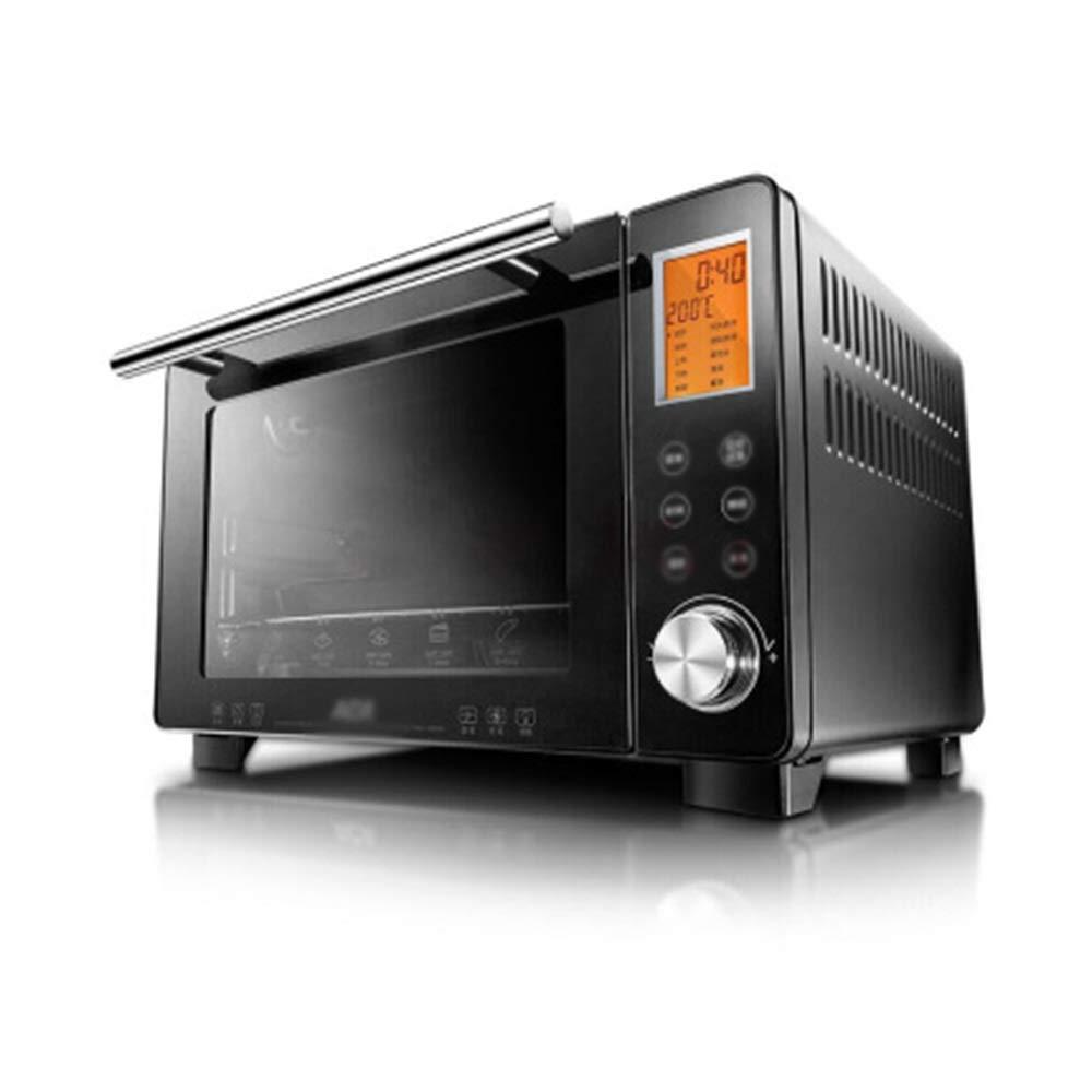 ミニオーブン家庭用高電力急速加熱大容量オーブン多機能自動オーブンベーキング電気オーブン  KDJHP B07QWD4JMJ  -オーブントースター