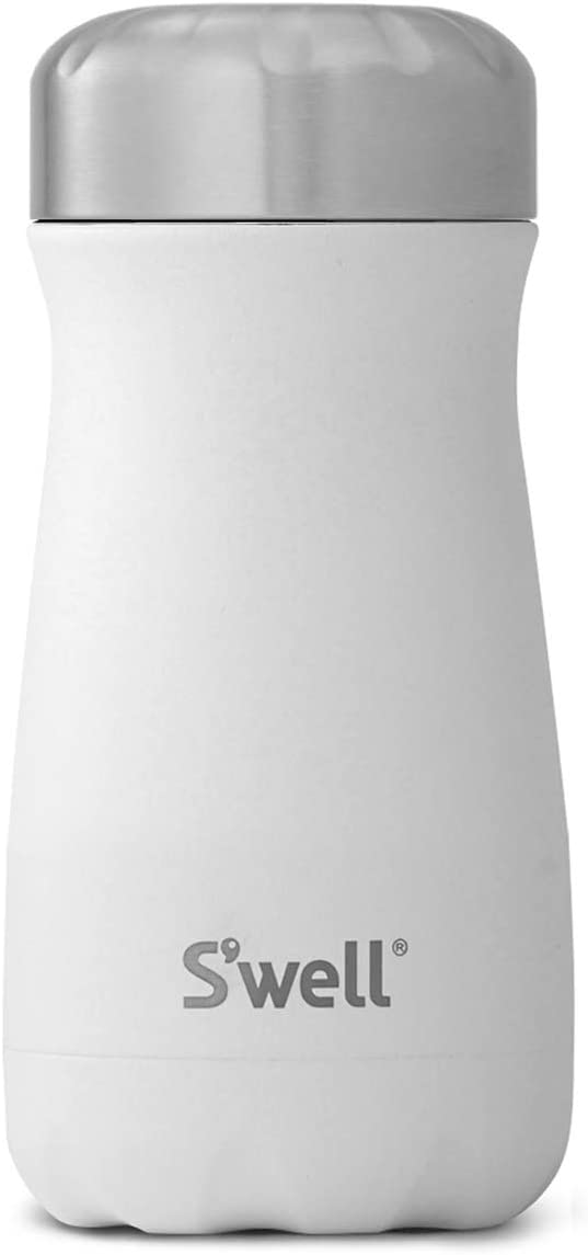 S'well 10312-B17-00510 Stainless Steel Travel Mug, 12oz, Moonstone
