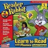 Reader Rabbit: Learn to Read with Phonics - Preschool and Kindergarten (PC)