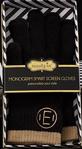 Mud Pie Chelsea Initial Gloves