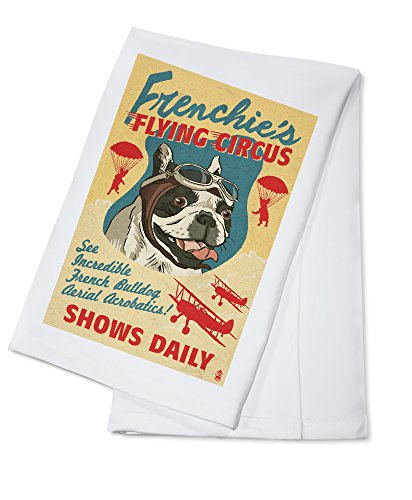 french bulldog kitchen towel - 8