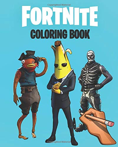 Fortnite Coloring Book Fortnite Coloring Book 100 Coloring Pages For Kids And Adults Including Chapter 1 2 Skins Weapons And Game Items Legendary Coloring 9798647129901 Amazon Com Books