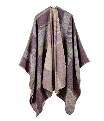 5 Medeshe Poncho Light Purple donna U6OOxRq