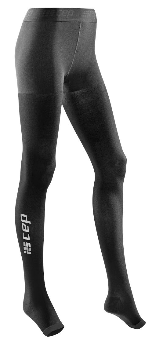 CEP Women's Recovery+ Pro Tights, Size 1, Black