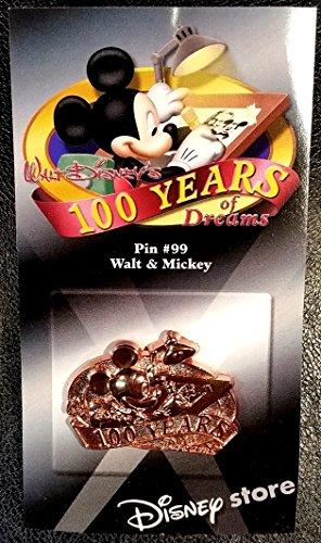 (Disney 100 Years of Dreams - Walt and Mickey - Pin #99)