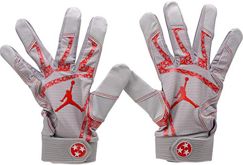 Mookie Betts Boston Red Sox Player-Issued Gray Jordan Batting Gloves - Fanatics Authentic Certified - MLB Game Used Gloves