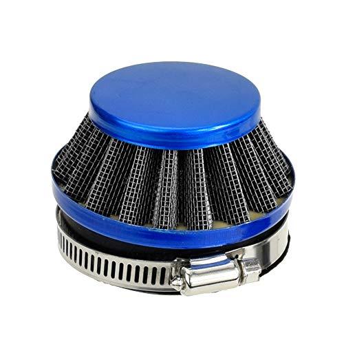 Blue 58mm to 60mm Performance Air Filter for Yamaha Honda Suzuki Kawasaki Motorcycle ATV Pocket Bike Parts