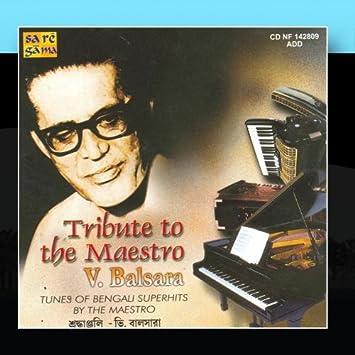 V  Balsara - A Tribute To Maestro V  Balsara - Amazon com Music