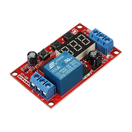 ZXY-NAN for Auduino Smart Home 12V Relay Module Digital Display Delay Board High and Low Trigger Adjustable Cycle Multi-Function Wood Shaving Tools from ZXY-NAN