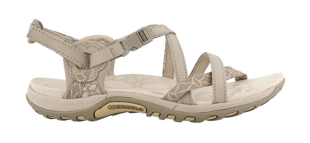 Merrell Women's Jacardia Sandal B0781SSD35 5 B(M) US|Taupe