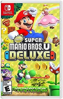 Super Mario Bros U Deluxe New Super Mario Bros U Deluxe