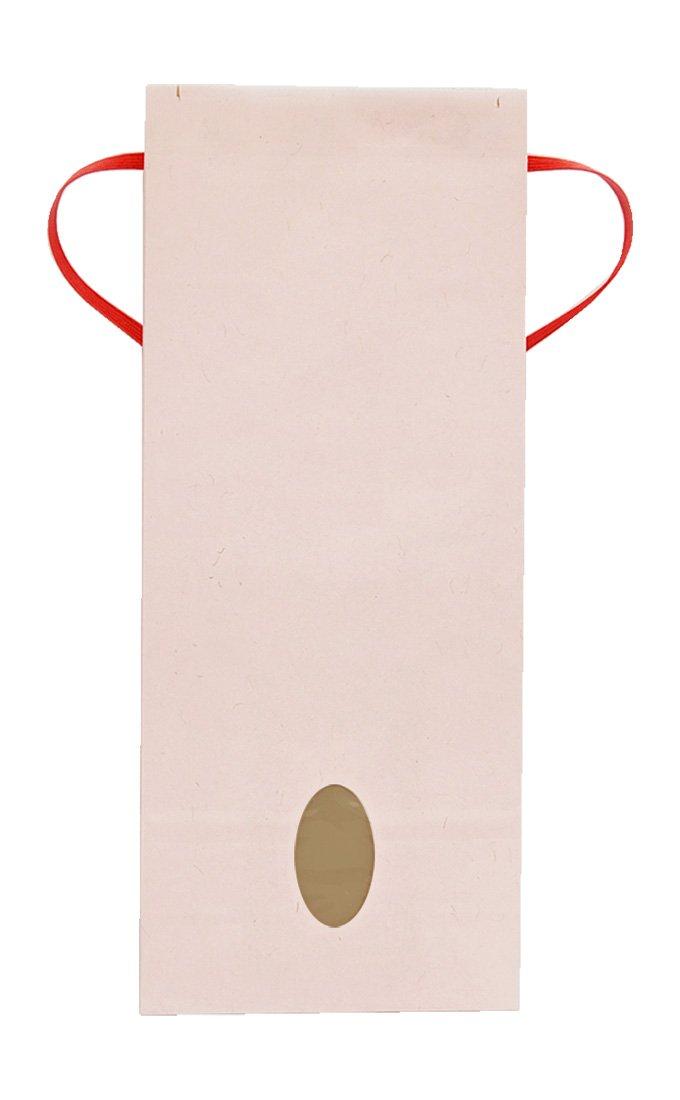 マルタカ クラフト カラー無地 さくら 1kg用紐付 1ケース(300枚入) KH-0870 B077GK74FX 1kg用米袋|1ケース(300枚入) 1ケース(300枚入) 1kg用米袋