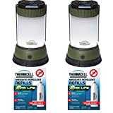 ThermaCELL Mosquito Repellent Pest Control Outdoor/Camping Lanterns: Campsite 2-Pack + 4 Max Life Refill Packs + Focus Refill Case