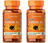 Puritan's Pride 2-pack of Lutein 20 Mg with