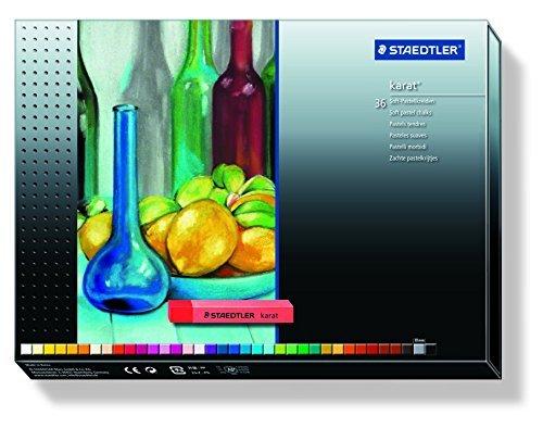 Staedtler Karat Premium Quality Soft Pastel Chalks. 2430C36 by Staedtler by Staedtler