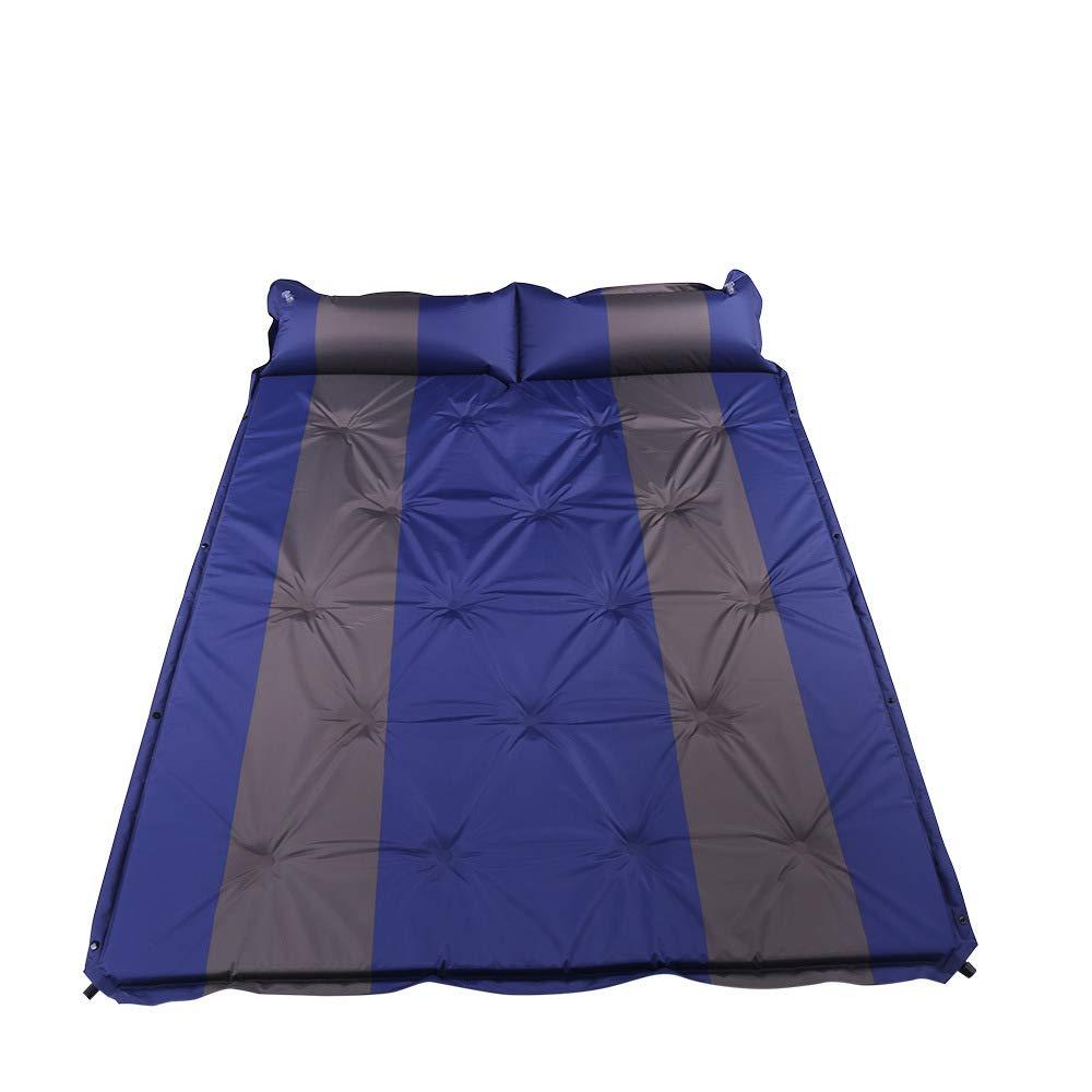 Unbekannt LEX Im Freien automatische aufblasbare Kissen PVC-kampierende Matte 3cm stark für Zwei Leute