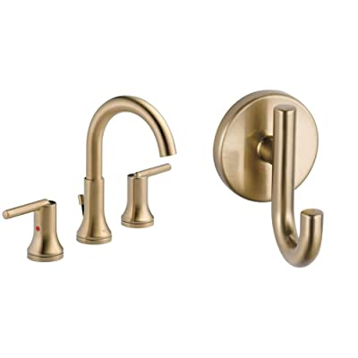 Buy Delta Faucet Trinsic Widespread Bathroom Faucet 3 Hole Champagne Bronze 3559 Czmpu Dst 5 00 X 16 00 X 5 00 Inches Faucet 75935 Cz 2 1 4 In Champagne Bronze Online In Indonesia B07rfttxt1
