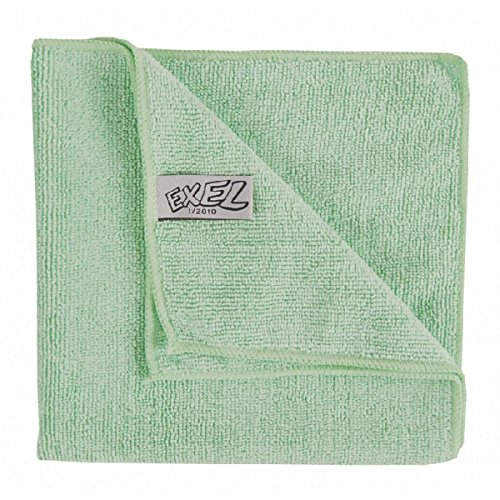 Robert Scott CICS009G Microfibre Cloth, Contract, 40 cm x 40 cm, Green (Pack of 10) ROBERT SCOTT & SONS
