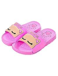 2017 Summer Kid Cat Shoes Antiskid Bathroom Home Indoor Slippers
