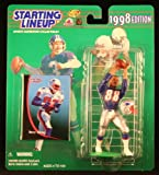 : TERRY GLENN / NEW ENGLAND PATRIOTS 1998 NFL Starting Lineup Action Figure & Exclusive NFL Collector Trading Card