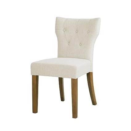 Amazoncom 510 Design Tufted Back Dining Chair Set Of 2 Avila