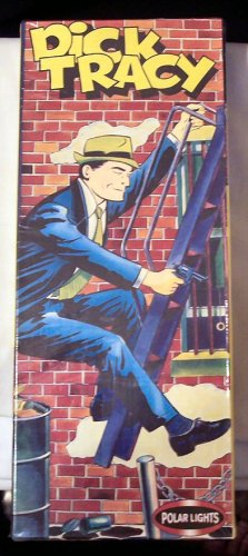 Dick Tracy Figure Model Kit Aurora Polar Lights