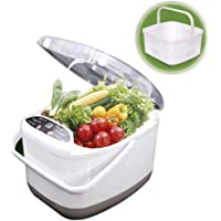 4.5L Ultrasonic Cleaner Fruit and Vegetable Disinfection Machine - Ultrasonic Washing Detoxifying Ozone Food Purifier…