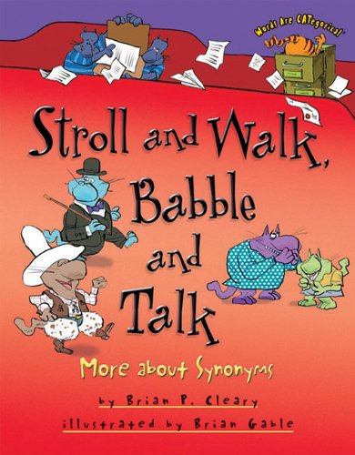 Stroll And Walk  Babble And Talk  More About Synonyms  Words Are Categorical  Paperback