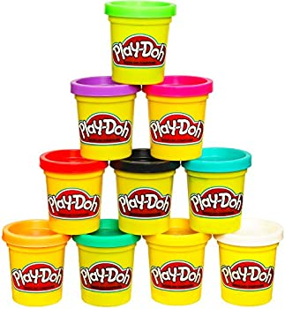 10-Pack Non-Toxic Modeling Compound Play-Doh