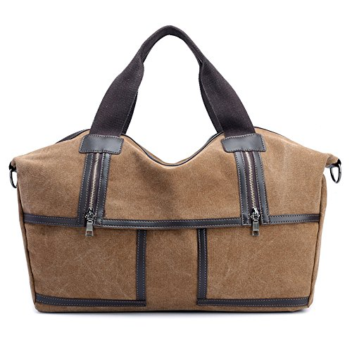 Versátil Bolso Y GWQGZ Lienzo Casual Inclinados Señoras Gris Coffee Simple Bolso PySq7