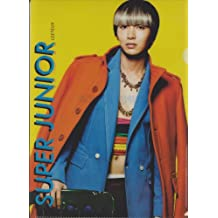 SUPER JUNIOR / Mr.Simple / Ito~uku (LEETEUK) SM Entertainment official Clear File (version E) made in Korea (japan import)