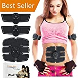 Muscle Toner MIMYSS Abdominal Toning Belt Toner Body Muscle Trainer Wireless Portable Unisex Fitness Training Gear for Abdomen/Arm/Leg Training Home Office Exercise