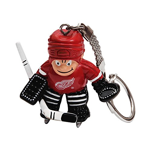 NHL Detroit Red Wings Goalie Keychain Detroit Red Wings Keychain