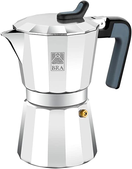 BRA Deluxe2 - Cafetera, Capacidad 6 Tazas, Aluminio: Amazon.es: Hogar