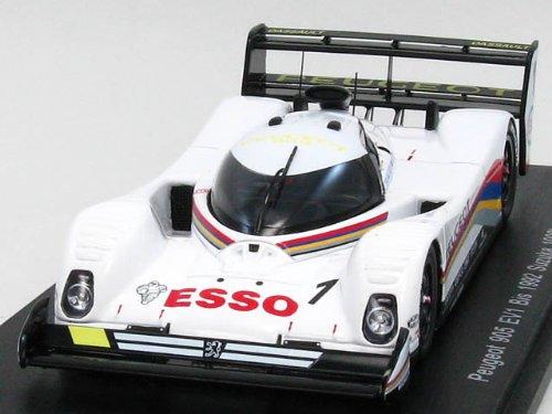 1/43 プジョー905EV1 Bis ESSO 1992年鈴鹿1000km優勝 #1ドライバー:D.Warwick/Y.Dalmas KBS065