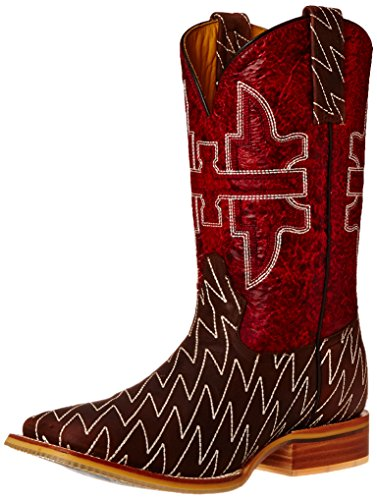 Picture of Tin Haul Shoes Men's Lightning Lucy, Brown/Red, 9.5 D US