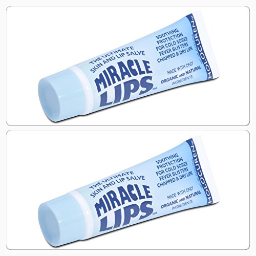 Holocuren Miracle Lips Salve (Two Pack)