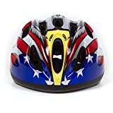 Dostar Kids Bike Helmet – Adjustable from Toddler to Youth Size, Ages 5-14 Cycling Scooter Multi-sport Kid Bicycle Helmets Boys/Girls will LOVE- CSPC Certified for Safety (Eagle-Black)