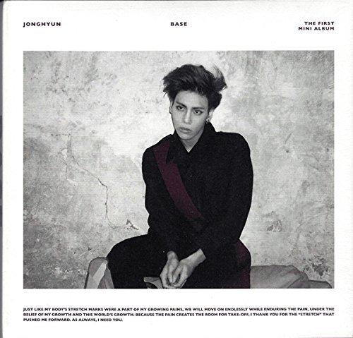 JONGHYUN SHINee - Base (1st Mini Album) [Random cover] CD + Photobook + Photocard + Extra Gift Jonghyun Photocard