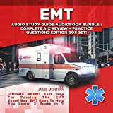 EMT Audio Study Guide Audiobook Bundle!: Complete A-Z Review & Practice Questions Edition Box Set!: Ultimate NREMT Test Prep for Passing the EMT Exam! Best EMT Book to Help You Learn! 2 Books in 1! -  Jamie Montoya