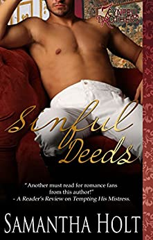 Sinful Deeds (Cynfell Brothers Book 2) by [Holt, Samantha]