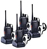 Best Walkie Talkies - Galwad 4pcs GW-888S Walkie Talkie with Built in Review