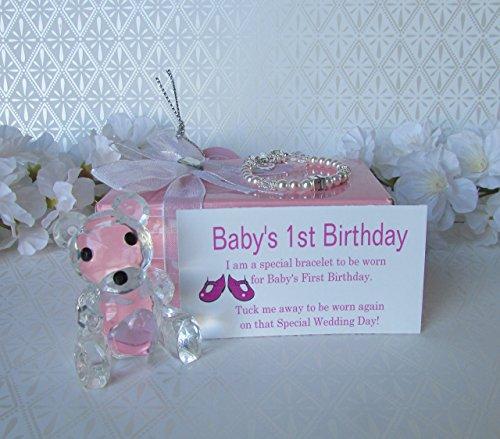 Baby's 1st Birthday Gift Bracelet Baby to (Swarovski Baby Bracelet)